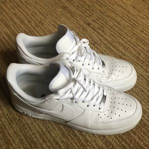 Nike Shoes - White nike af1 uptowns size 12 air force one